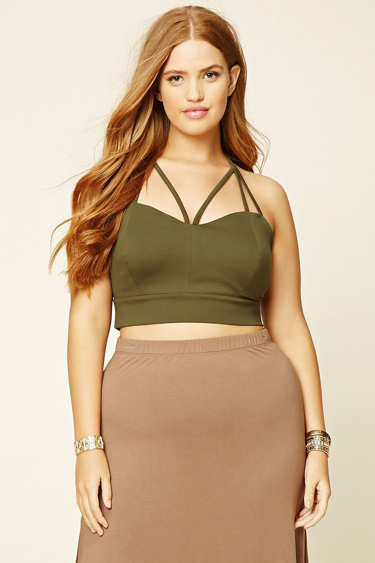 d148946bf7d Forever 21 Crop Tops Plus Size