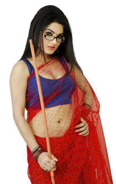 aunty fat hot saree