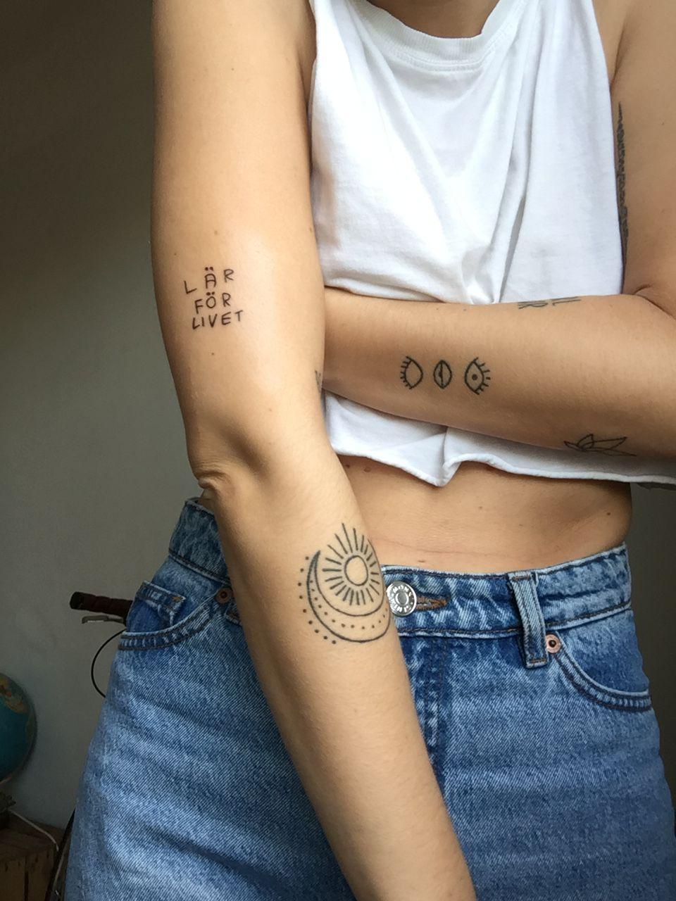 Hayliepowers Tattoo Ideas Tattoos Sun Tattoos Poke Tattoo