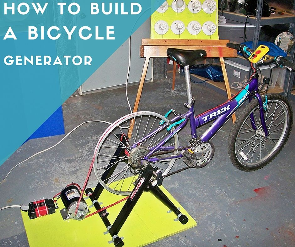 How To Build A Bicycle Generator (With images) Solar