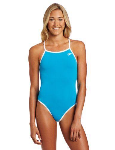 7e7d8e214c Speedo Women`s Solid Reversible Extreme Back Endurance Swimsuit  41.54