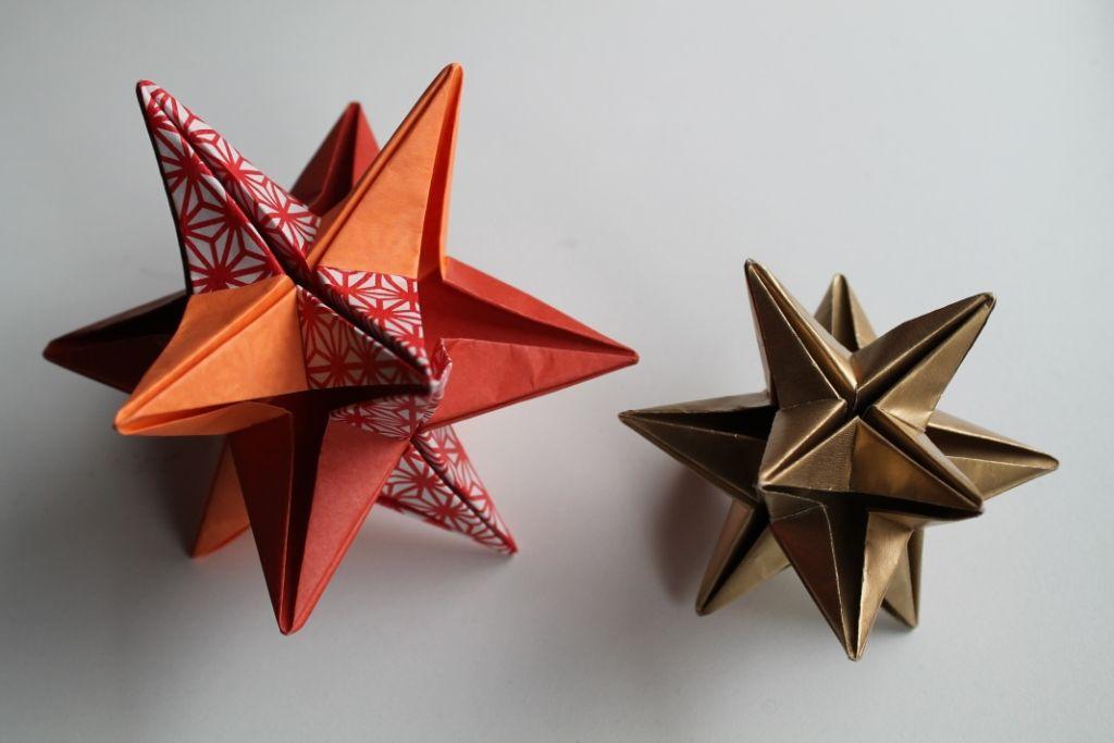 5.th.e: 7. dec - DIY origamistjerne