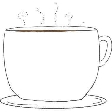 冬の枠 無料イラスト コーヒーカップ コーヒーカップ イラスト イラスト カフェイラスト