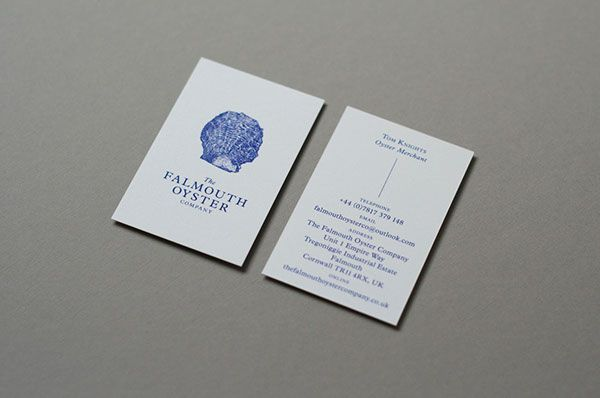 the falmouth oyster company identity design on behance