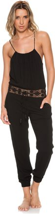 Black jumpsuit with crochet inlay http://www.swell.com/Womens-Apparel-New-Products/MICHELLE-JONAS-KEIKO-JUMPSUIT?cs=BL
