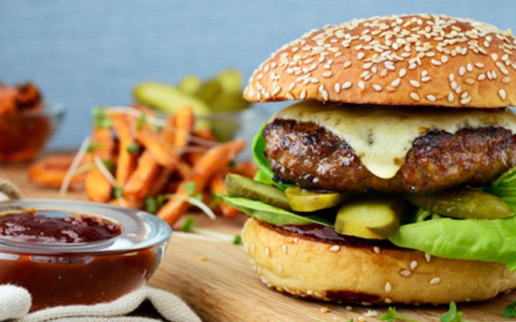 A Korean Galbi Beef Burger Recipe Burger Recipes Beef Recipes Burger Recipes