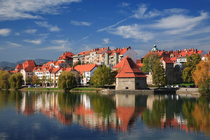 Viaggio a #Maribor: perla nella regione del Drava, dove il sole splende 300 giorni l'anno,  capoluogo della Štajerska (Stiria slovena), al confine con l'Austria, attende i visitatori con tutto il suo fascino.