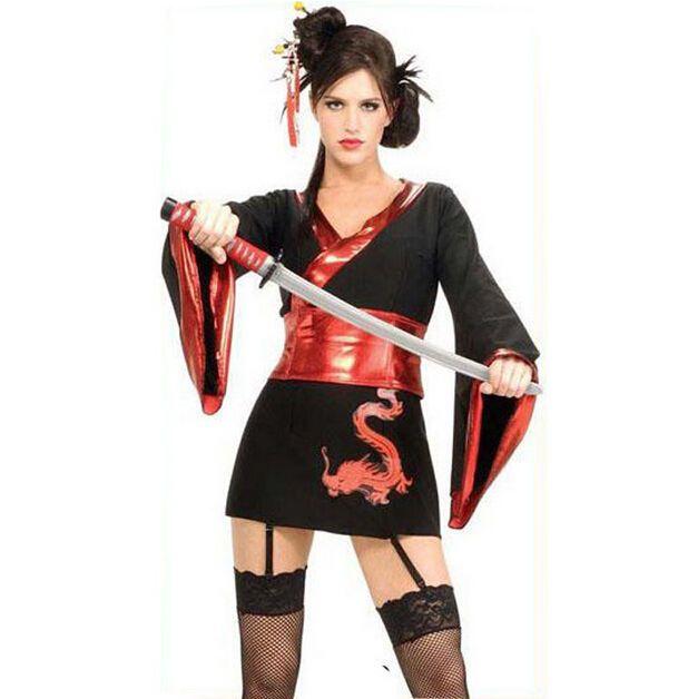 256025587 Japanese Animation Ninja Warrior Women Sexy Skirt Halloween Cosplay CostumeS-XXL  #Handmade #Uniform #Clubwear