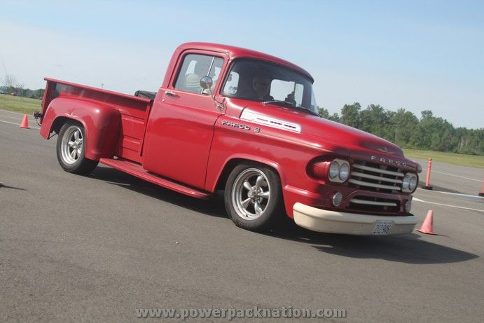 Vintage Chrysler Fargo Pickup Truck With Images Classic