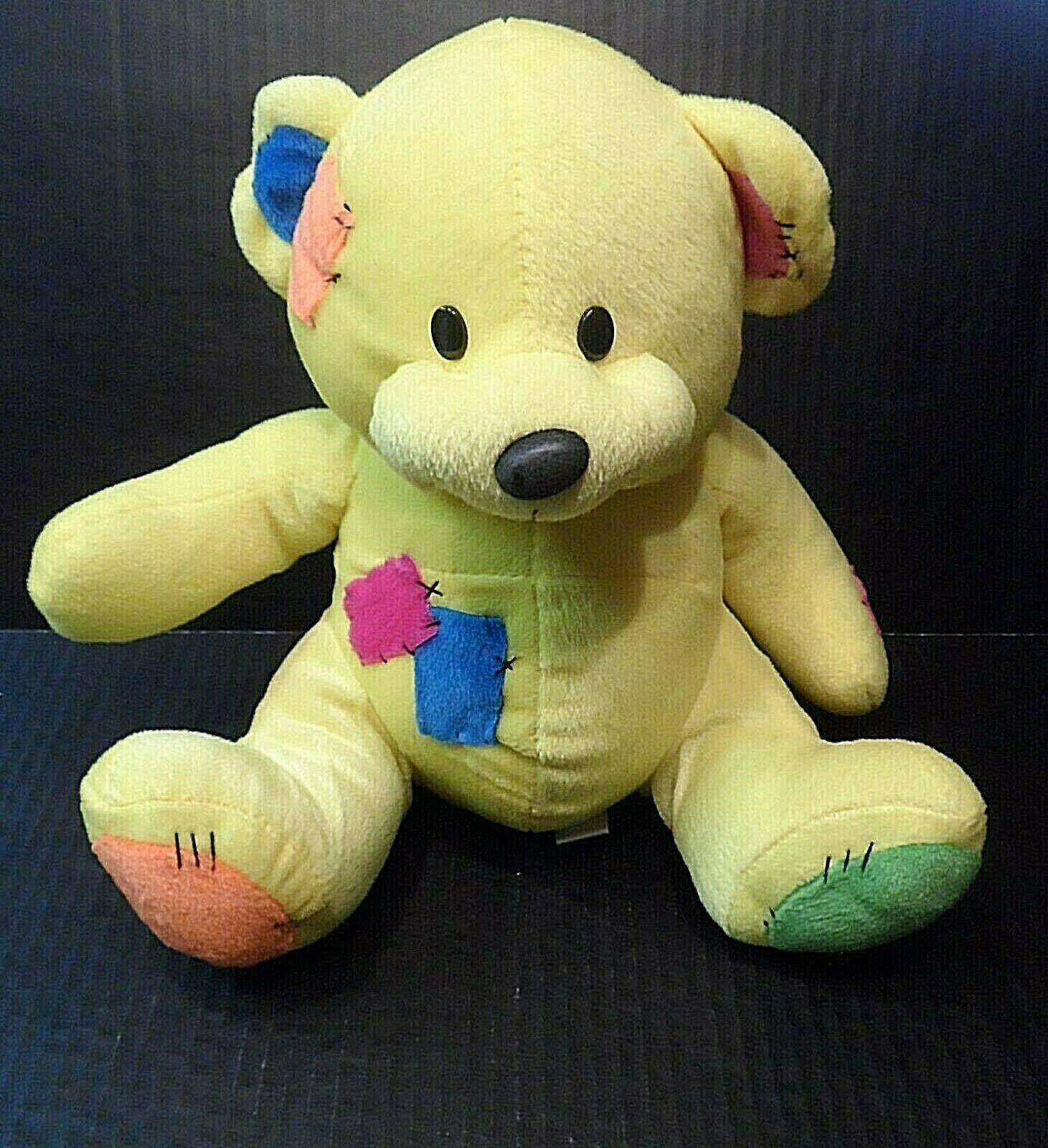 Sugar Loaf Plush Teddy Bear Stuffed Animal With Patches 10 Teddy Bear Stuffed Animal Bear Stuffed Animal Plush Stuffed Animals [ 1600 x 1461 Pixel ]