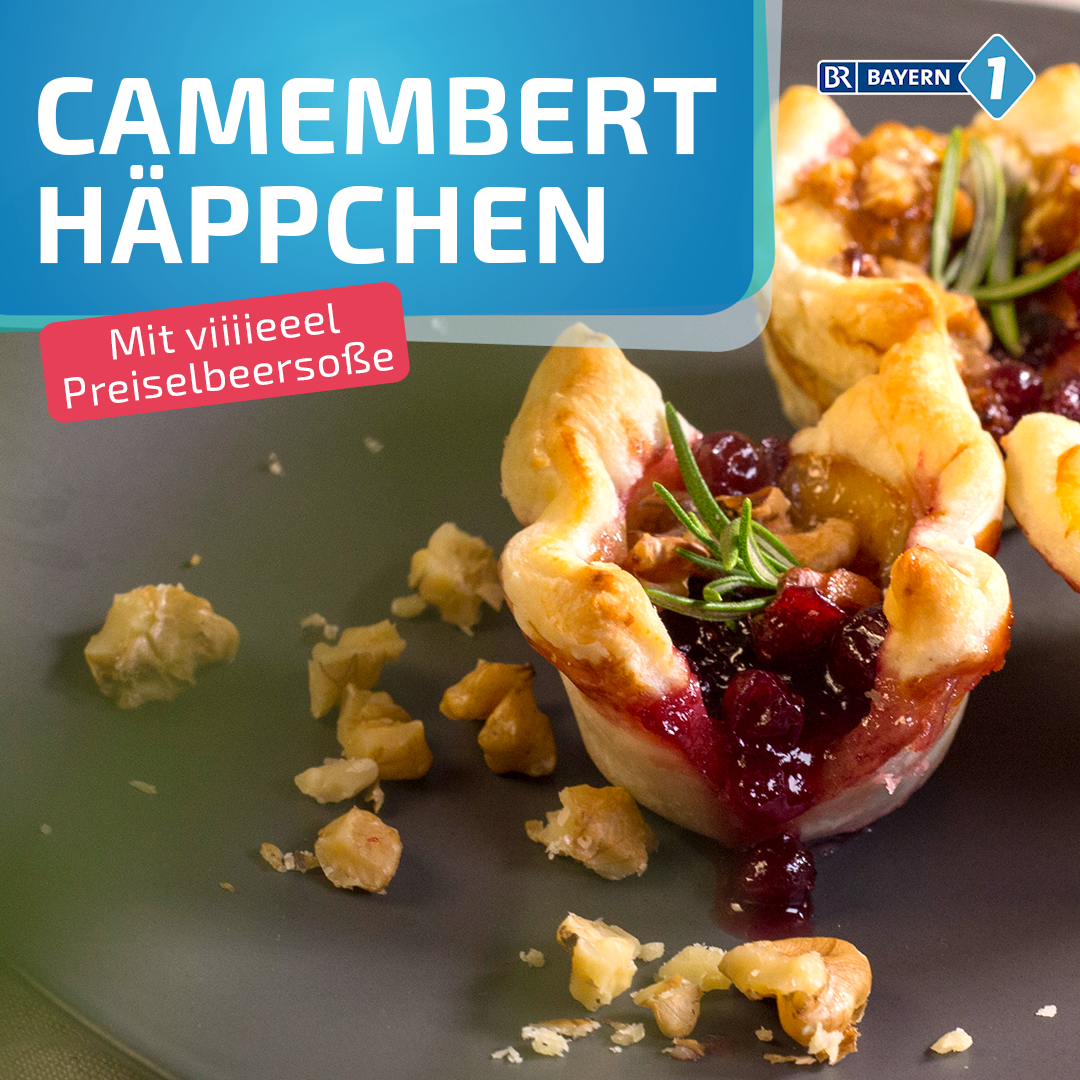 Photo of Oven-baked camembert in puff pastry