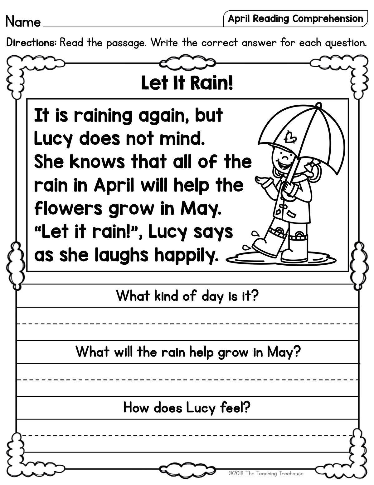 Pin by Amy Bowen on Preschool spring in 2020 Reading