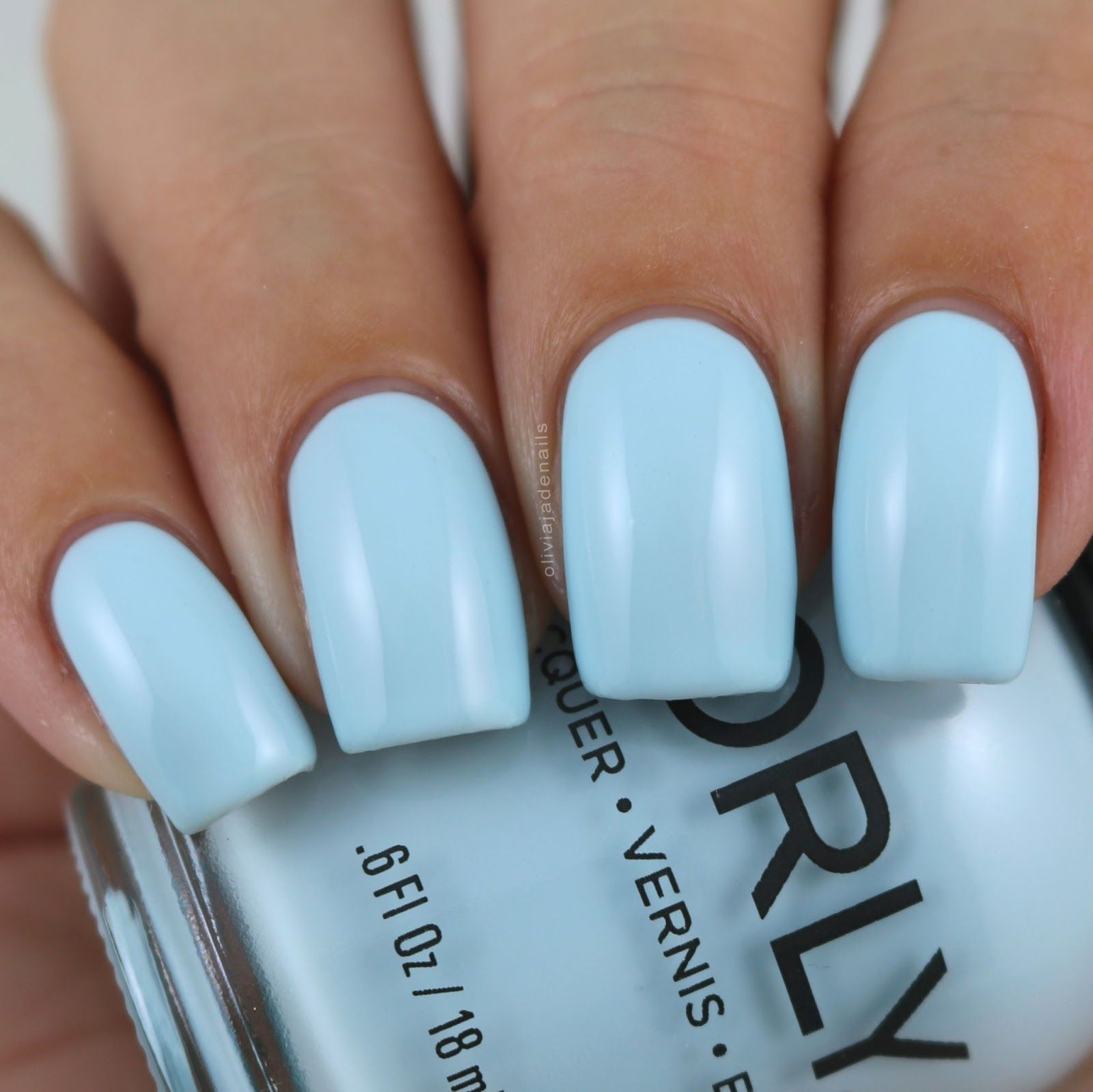 Orly Forget Me Not swatched by Olivia Jade Nails | C Albastru ...