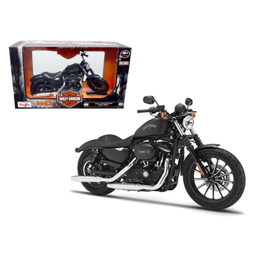 2014 Harley Davidson Sportster Iron 883 Motorcycle Model 1 12 By Maisto Sportster Iron Harley Davidson Pictures Classic Harley Davidson