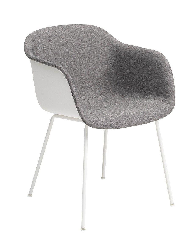 Muuto Fiber - Tube Base- Front Upholstery | mintroom.de #Muuto #mintroom #shop #stühle #plastic #metall #chairs #alle