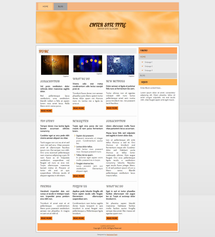 Early Fall | HackstockTech | Web Design Blogger Templates ...