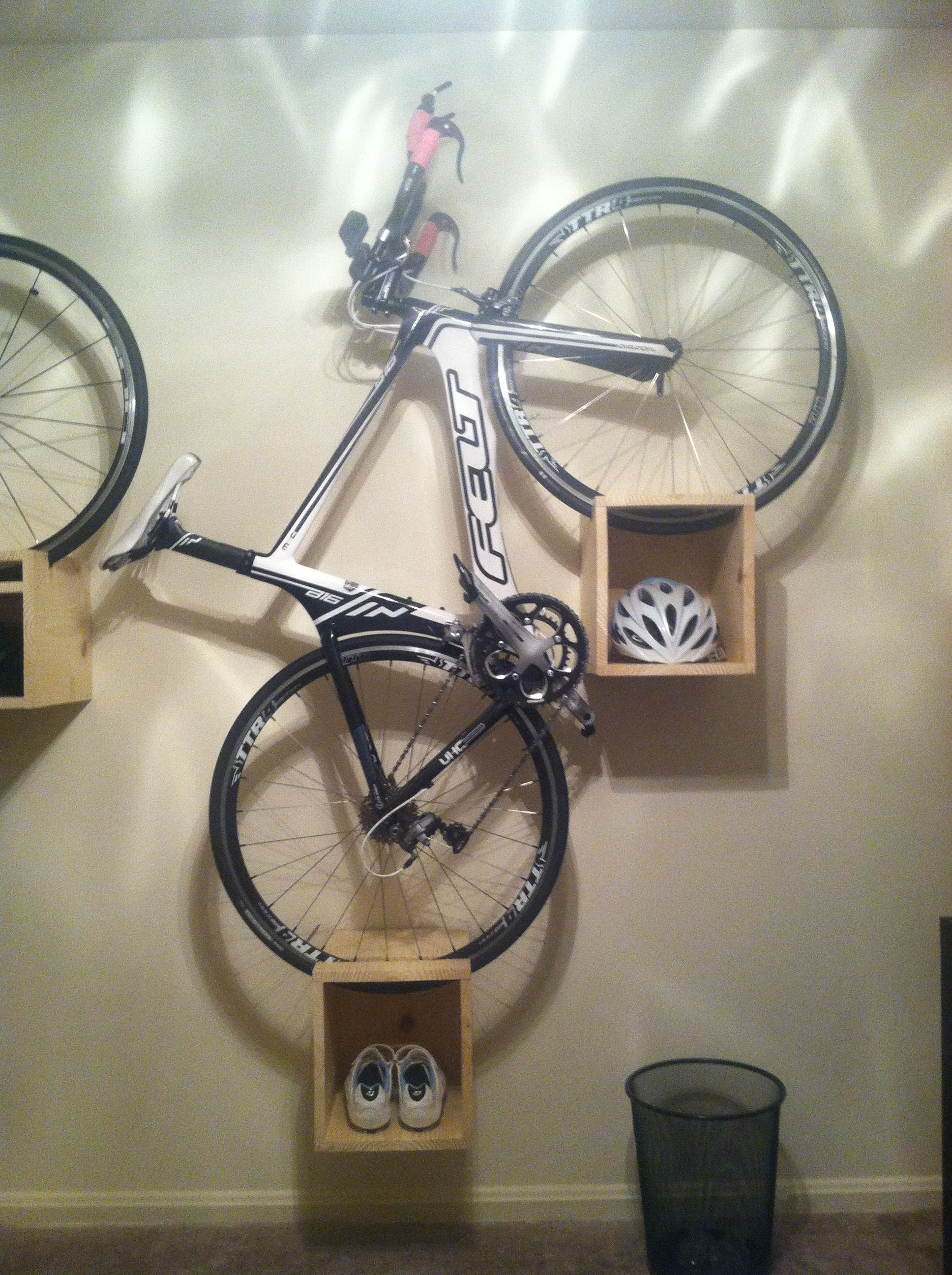 Bike Rack For The Garage Diy Bike Rack Garage Organization Pinterest Diy Bike Rack