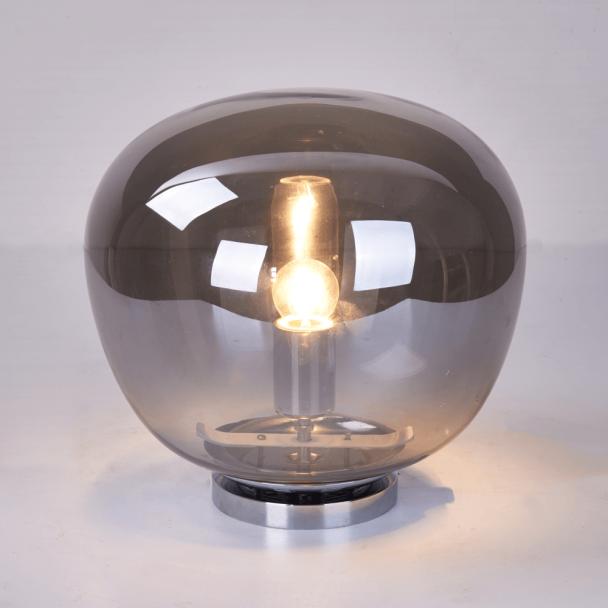 Lampe Boule Verre Fume Vintage Echoes Luminaire Vintage Lampes Vintage Luminaire