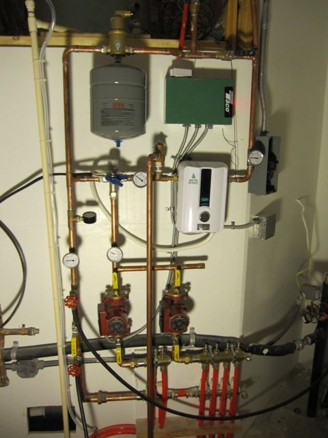 Brainright Hydronic Heating System