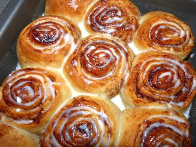 Cinnamon rolls – roulés à la cannelle