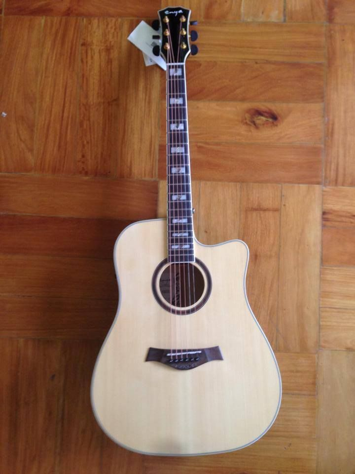 Enya Ed 18 Acoustic Guitar Enya Ed 18 Price 5800 Pick Ups Cost Additional 1700 Shape Dreadnaught Frets 21 2 1high Strengt Acoustic Guitar Guitar Acoustic