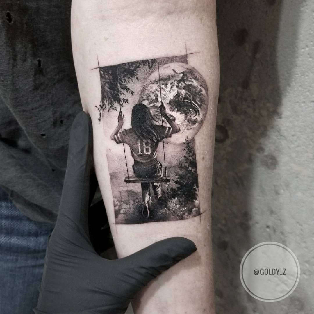 Zlata Kolomoyskaya Goldy Z Instagram Photos And Videos Realism Tattoo Line Tattoos Fine Line Tattoos