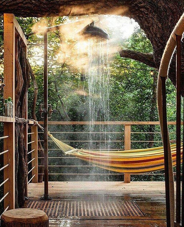 Indoor Outdoor Shower 😍 indoor outdoor shower love pinned from instagram:- outdoor