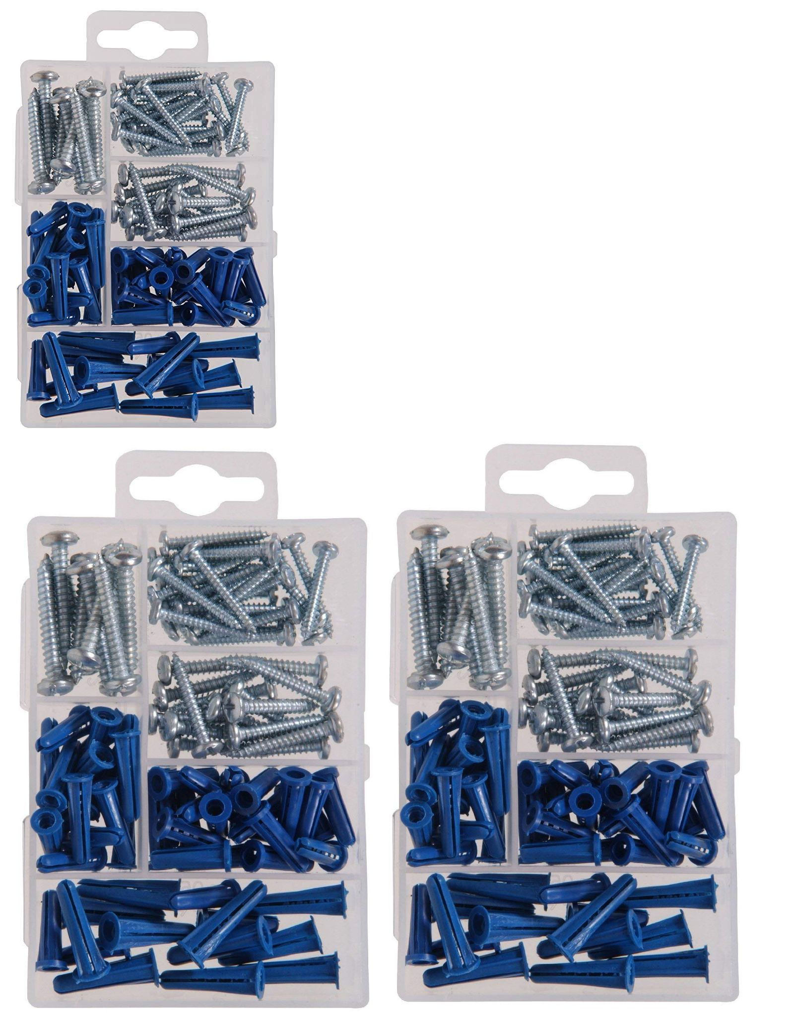 Details About Hillman Group 591516 2 Pack Small Anchors With Srcews Assortment 95 Piece Box Small Anchor Ebay Anchor