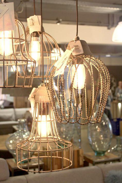 Draadhanglamp Bersone Pronto wonen | verlichting | Pinterest | Interiors
