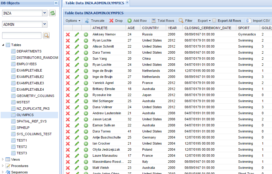 Netezza SQL Client Tool Web based, Sql server