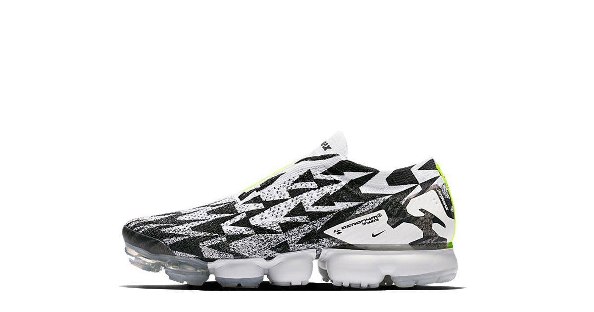 brand new 5dbe8 90b90 Acronym x Nike Air VaporMax Moc 2 Release 26.03.2018 Colorway Light  BoneLight Bone-Black Style-Code AQ0996-001