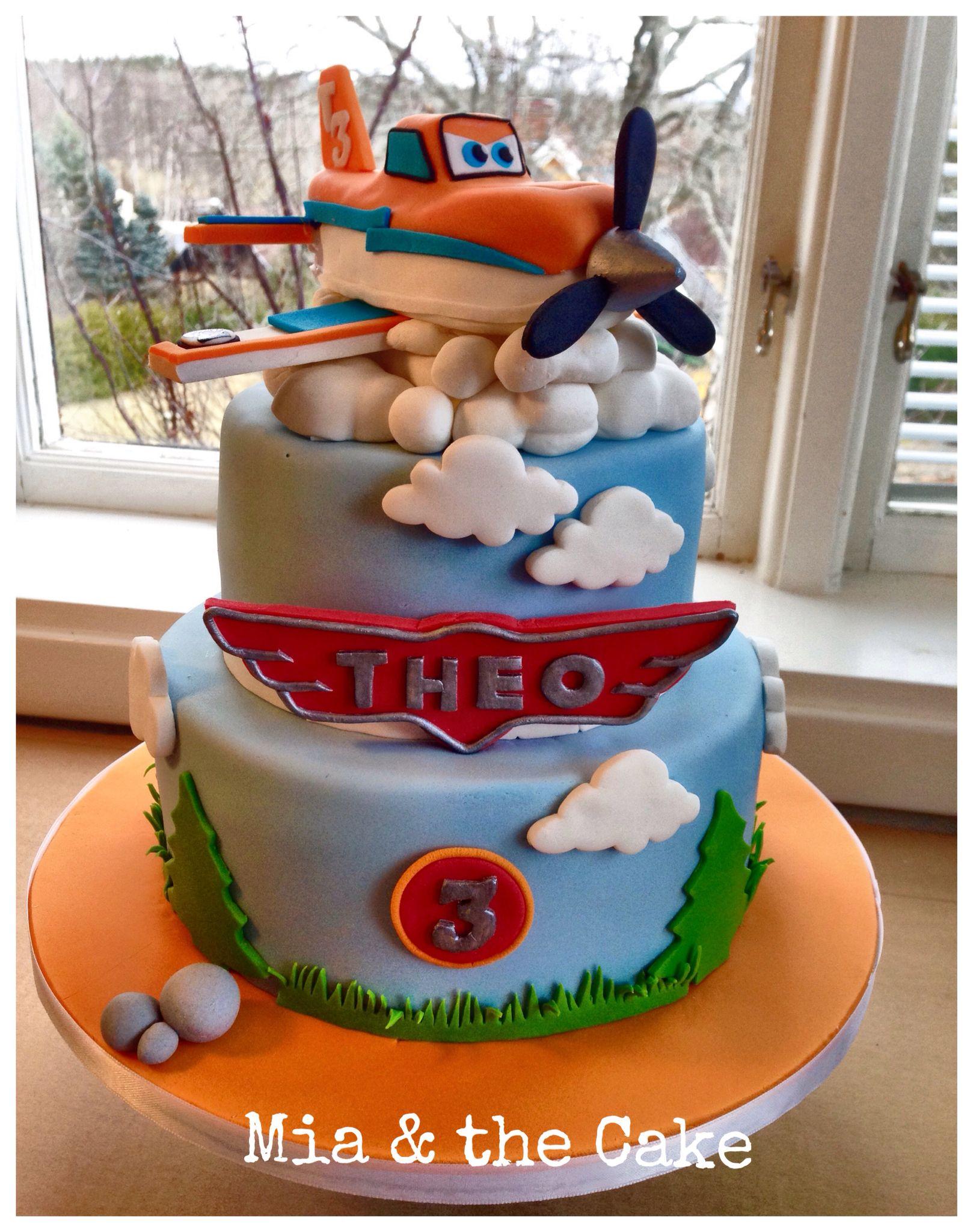 Dusty Crophopper Disney Cake Planes Birthday Party Pinterest