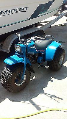 1983 Honda ATC 110 *RARE* BLUE 3 Wheeler