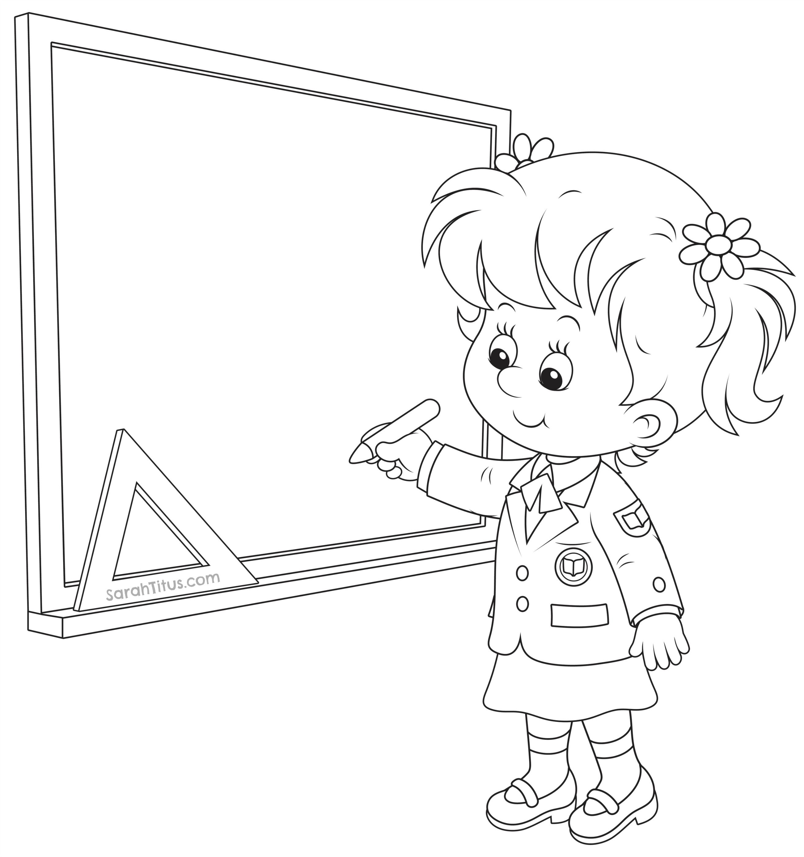 Back to School Coloring Pages   Schulanfang, Schule und Ausmalbilder