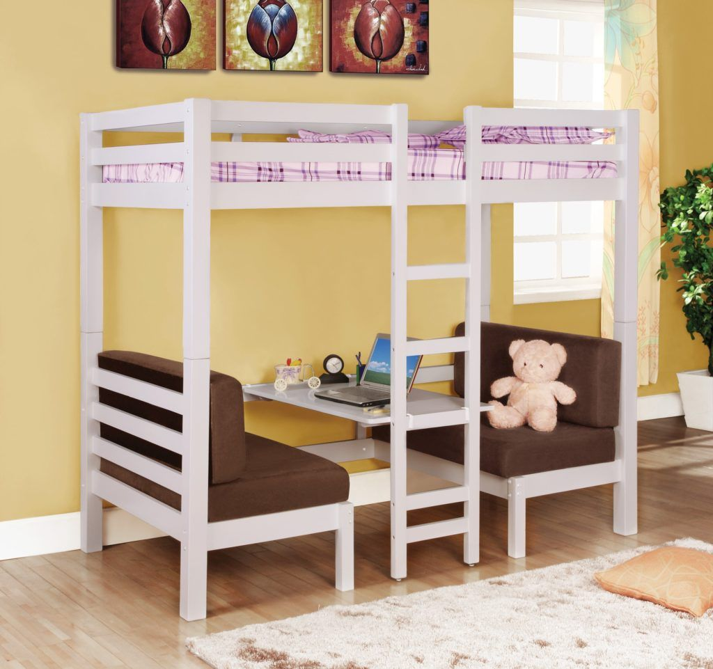 17 Bunk Beds With Desks Underneath For