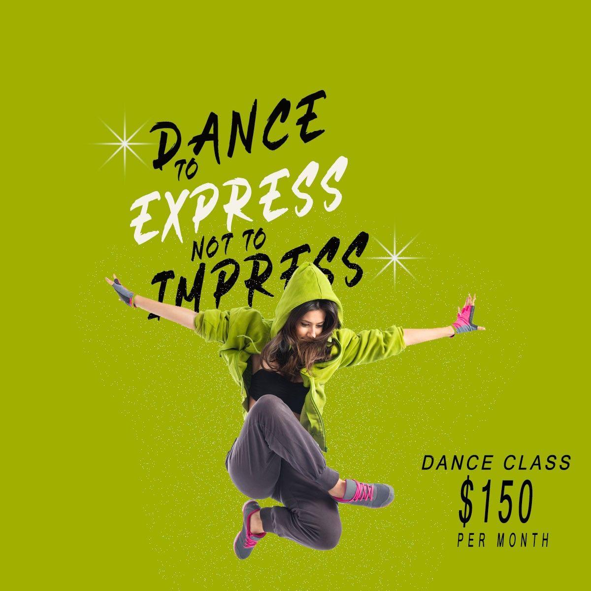 Dance Class Banners Design Class Poster Design Class Poster Dance Poster