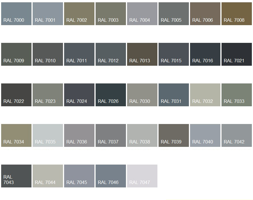 nuancier ral gris fen tres pinterest nuancier ral nuancier et couleur. Black Bedroom Furniture Sets. Home Design Ideas