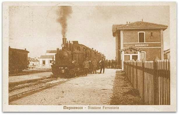 Stazione ferroviaria magnavacca ora porto garibaldi pinterest porto - Bagno venere porto garibaldi ...