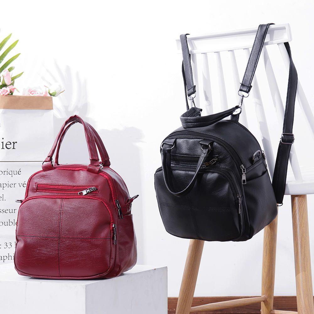 Leisure Wild Multifunctional Backpack Shoulder Bag For Women - Banggood  Mobile  shoulderbagsforwomen 09792c7072454