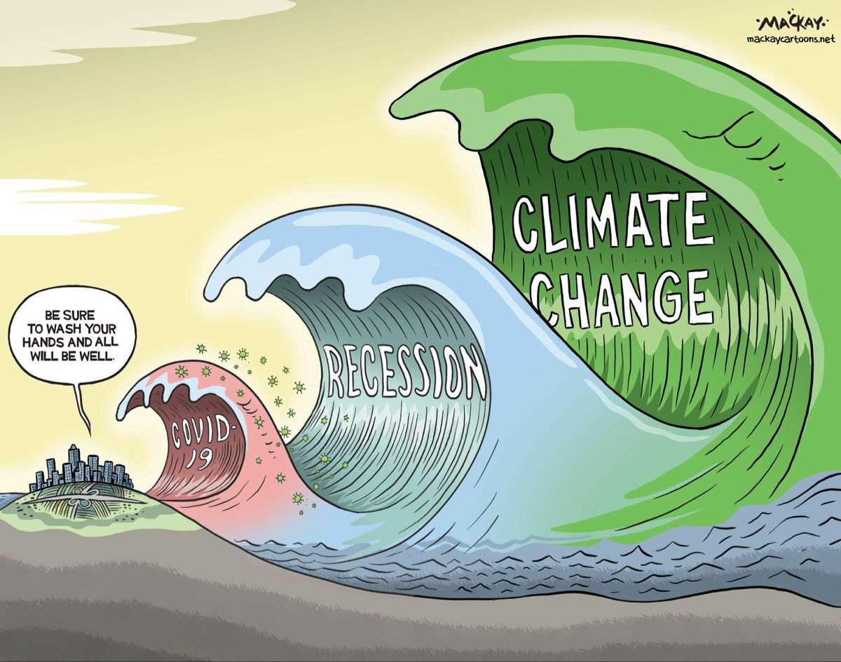 Climate Change Tsunami makes big waves in 2020 Editorial