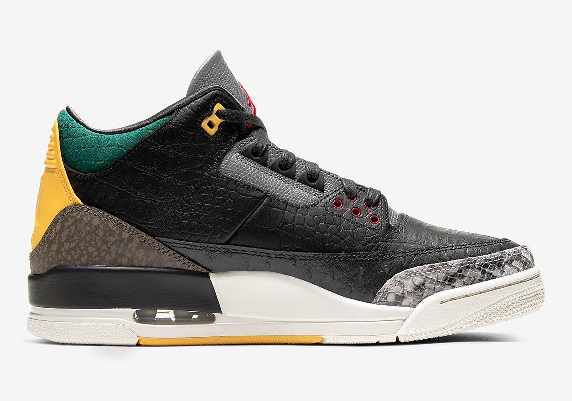 Official Pictures Of The Air Jordan three Animal Intuition