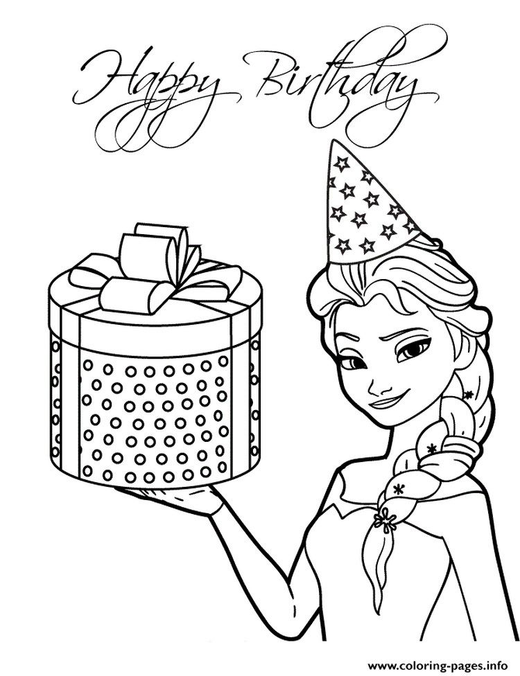 Free Elsa Coloring Pages Printable Free Coloring Sheets Elsa Coloring Pages Birthday Coloring Pages Frozen Coloring Pages