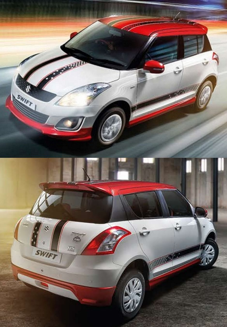 Car sticker design for swift - Maruti Has Launched Swift Glory Limited Edition With Upgrade Features