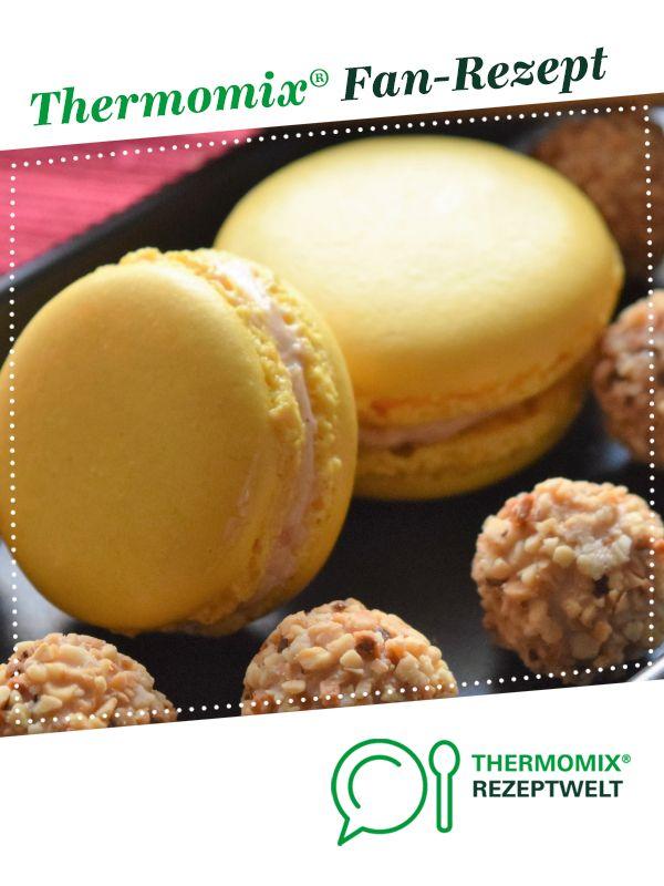 Giotto Macarons von HdMs. Ein Thermomix ® Rezept aus der Kategorie Backen süß auf www.rezeptwelt.de, der Thermomix ® Community. #recipeforpiecrust