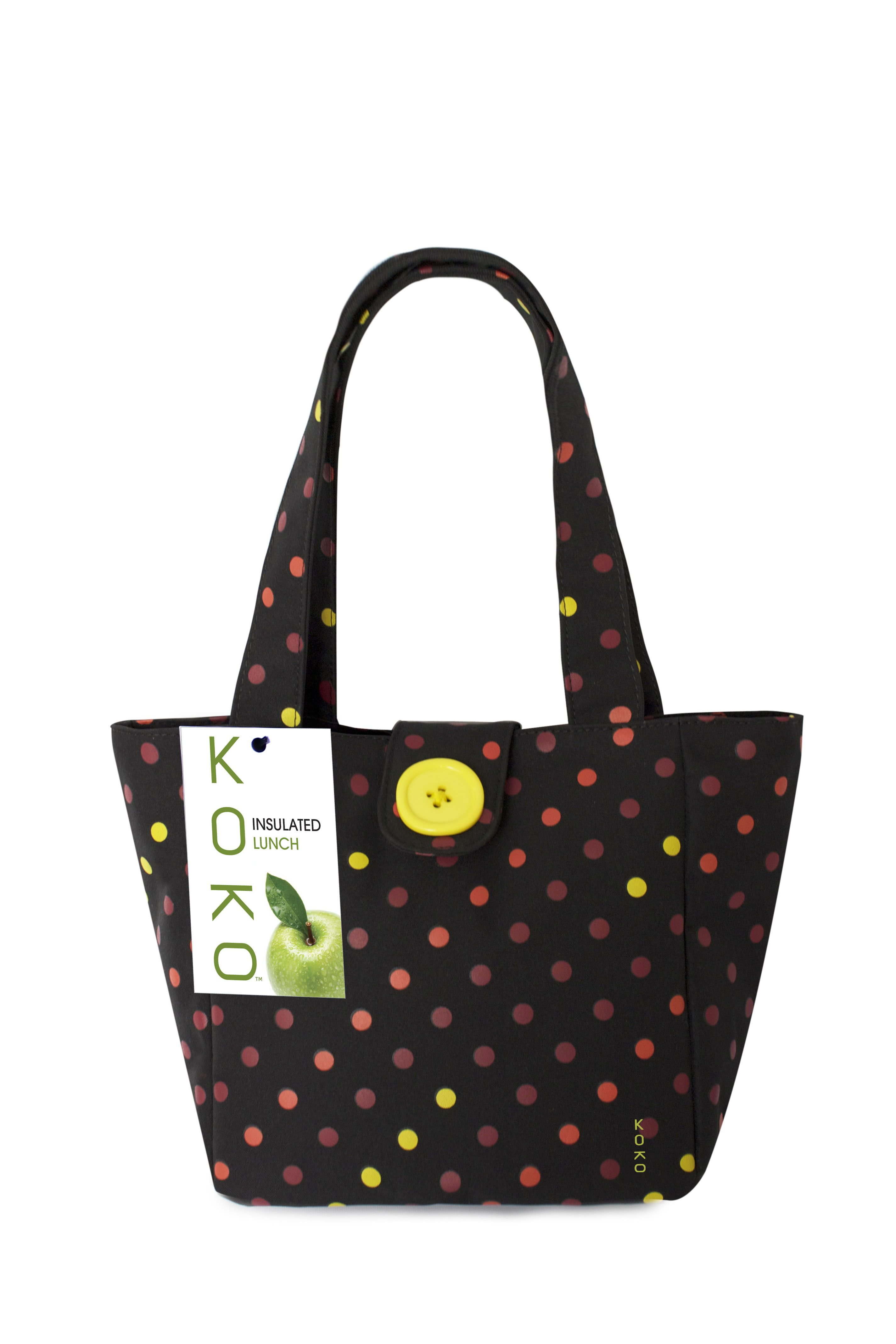 Addie Love Dots Insulated Lunch Bag! So cute   by KOKO