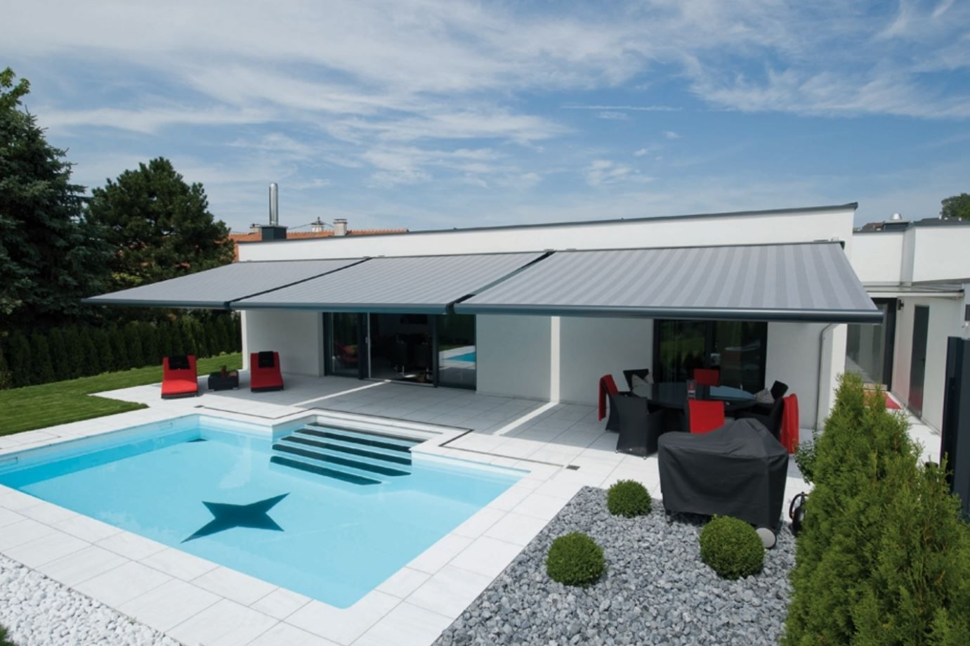 Retractable Folding Arm Awning Systems Brisbane Awning Roofing Systems Outdoor Areas