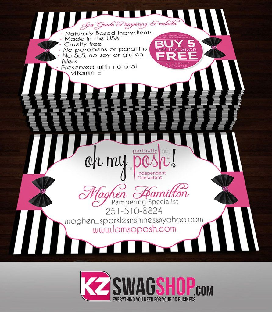 Perfectly Posh Business Cards Style 12 Perfectly Posh Perfectly Posh Business Perfectly Posh Consultant