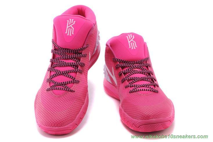 sale retailer 5b013 d804f Pink White 705277-600 Nike Kyrie 1