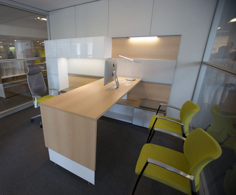Teknion Expansion - Adjustable Height Desk | NeoCon 2015 - Teknion ...