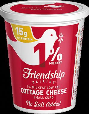 friendship dairies 1 lowfat no salt added cottage cheese rh pinterest com friendship nonfat cottage cheese nutrition friendship nonfat cottage cheese nutrition